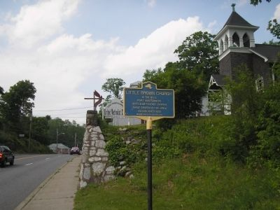 Marker in Fort Montgomery Photo, Click for full size
