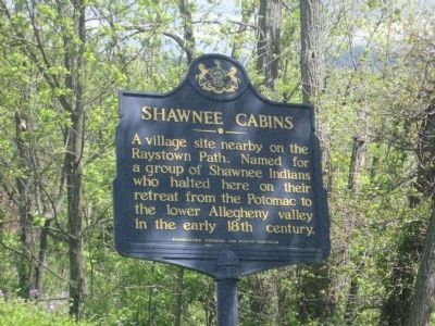 Shawnee Cabins Marker image. Click for full size.