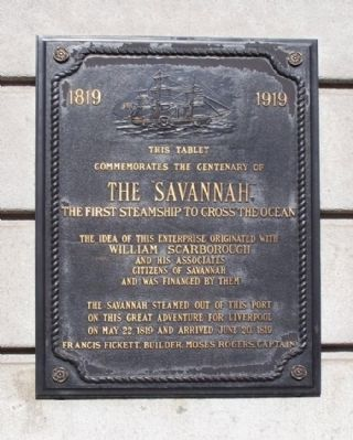 The Savannah Marker image. Click for full size.