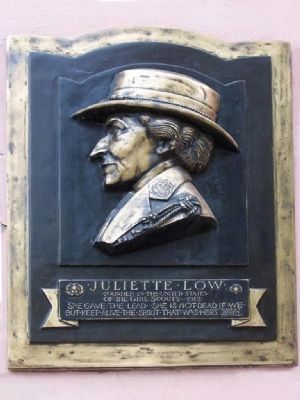 Juliette Low Marker image. Click for full size.