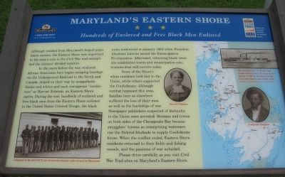 Maryland's Eastern Shore Marker image. Click for full size.