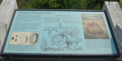 Native Americans Marker Photo, Click for full size