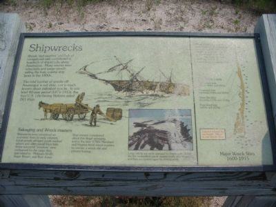 Shipwrecks Marker image. Click for full size.