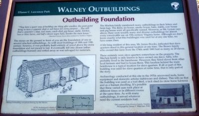 Walney Outbuilding Foundation Marker image. Click for full size.