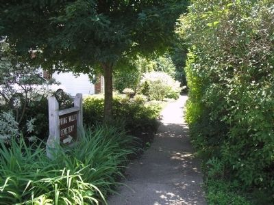 Path to Spring Valley Cemetery image. Click for full size.