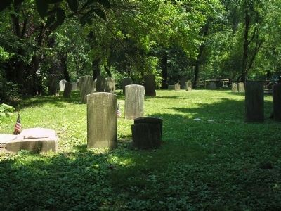 Old Spring Valley Burial Ground image. Click for full size.
