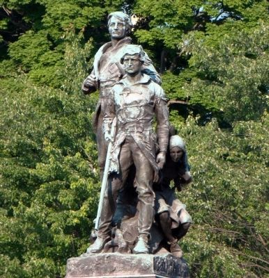 Lewis and Clark Statue image. Click for full size.