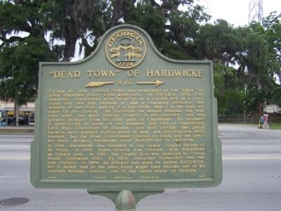 """Dead Town"" of Hardwicke Marker image. Click for full size."