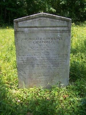 Another Notable grave at the Ruins of Pon Pon Chapel of Ease , Photo, Click for full size