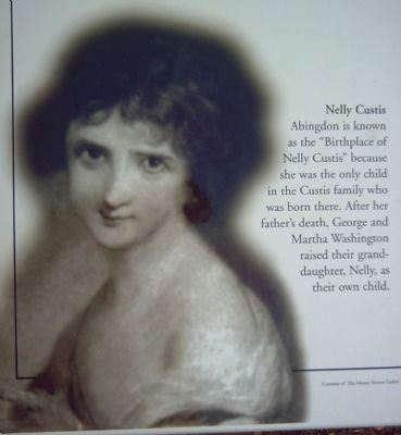 Nelly Custis image. Click for full size.