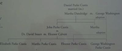 The Custis Family Tree Photo, Click for full size