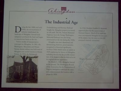 The Industrial Age Marker image. Click for full size.