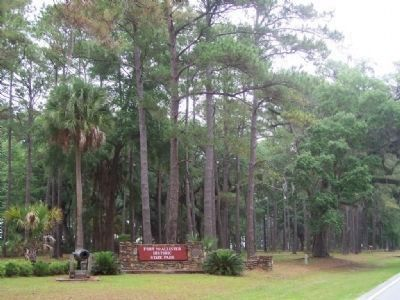 Fort McAllister Entrance Photo, Click for full size