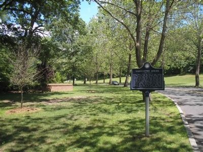 Marker in Van Saun County Park image. Click for full size.