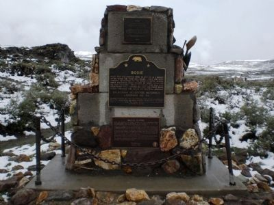 Bodie Monument image. Click for full size.