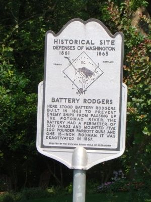 Battery Rodgers Marker image. Click for full size.