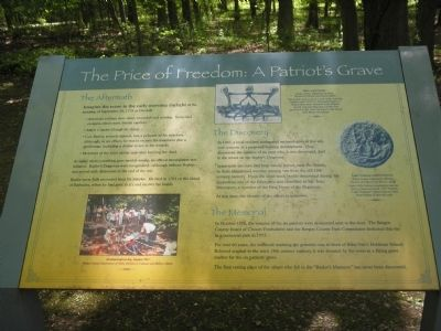The Price of Freedom: A Patriot�s Grave Marker image. Click for full size.