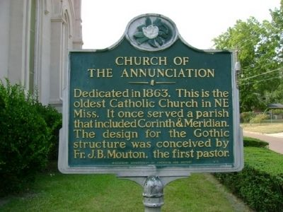 Church of the Annunciation Marker image. Click for full size.