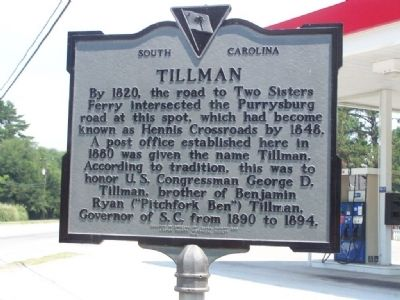 Tillman Marker image. Click for full size.