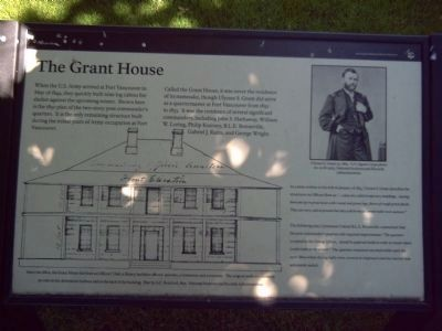 The Grant House Marker image. Click for full size.