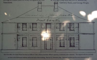 Drawing of the Grant House (from the marker) image. Click for full size.