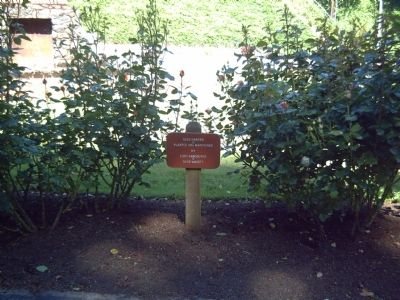 Covington House Rose Garden image. Click for full size.