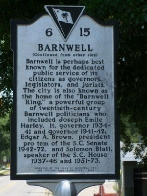 Barnwell Marker side 2 image. Click for full size.