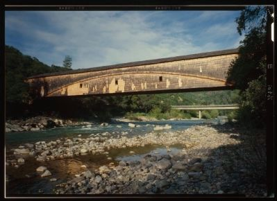 Bridgeport Covered Bridge Photo, Click for full size