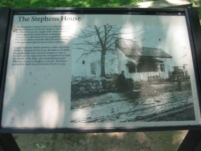 The Stephens House Marker Photo, Click for full size