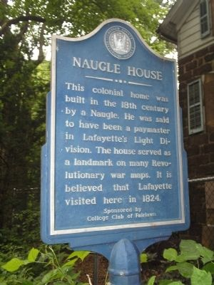 Naugle House Marker image. Click for full size.