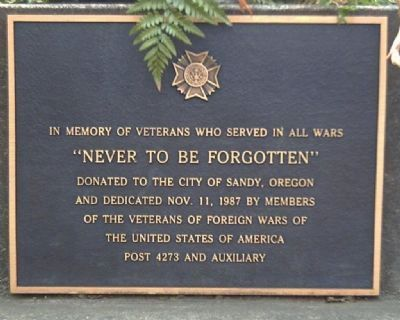 The Vietnam Monument Marker image. Click for full size.