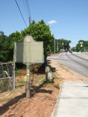 Terry's Mill Pond Marker image. Click for full size.