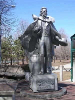 Uncle Sam Wilson Statue Photo, Click for full size