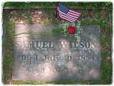 <b>Uncle Sam Grave Marker - Oakwood Cemetery </b> Photo, Click for full size