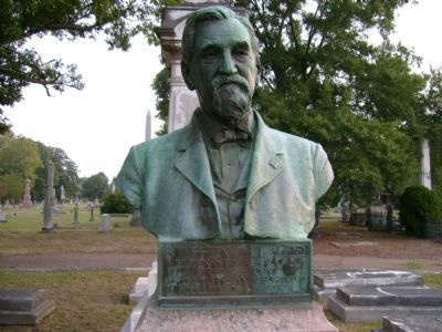 Stephen Dill Lee Bust image. Click for full size.