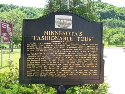 "Minnesota's ""Fashionable Tour"" Marker image. Click for full size."