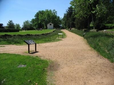 Three Wayside along the Sunken Road image. Click for full size.