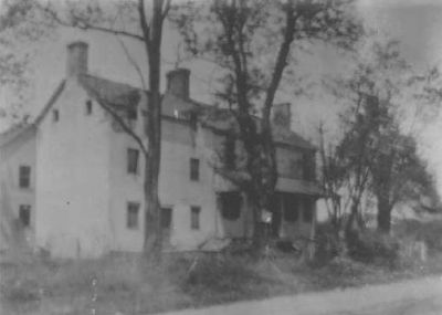 The old Bush Inn, probably before the 1920s image. Click for full size.