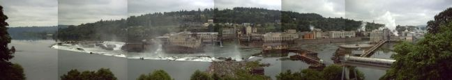 Composite picture of Willamette Falls image. Click for full size.