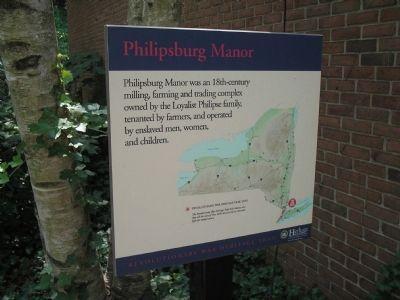 Philipsburg Manor Marker image. Click for full size.