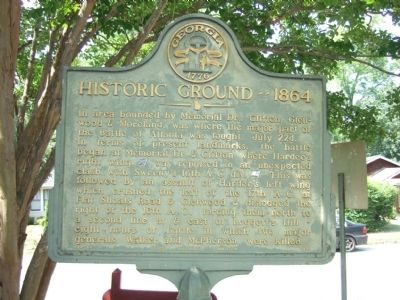 Historic Ground --1864 Marker image. Click for full size.