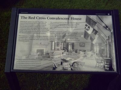 The Red Cross Convalescent House Marker image. Click for full size.