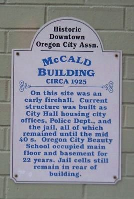 McCald Building Marker image. Click for full size.