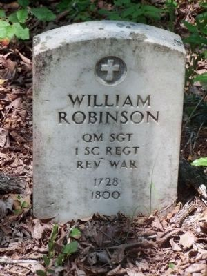 One of several Revolutionary War Headstones image. Click for full size.