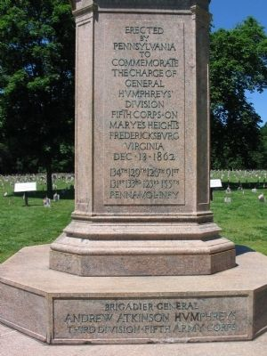 Front Inscription on Monument image. Click for full size.
