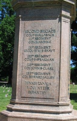 Right Side Inscription on Monument image. Click for full size.