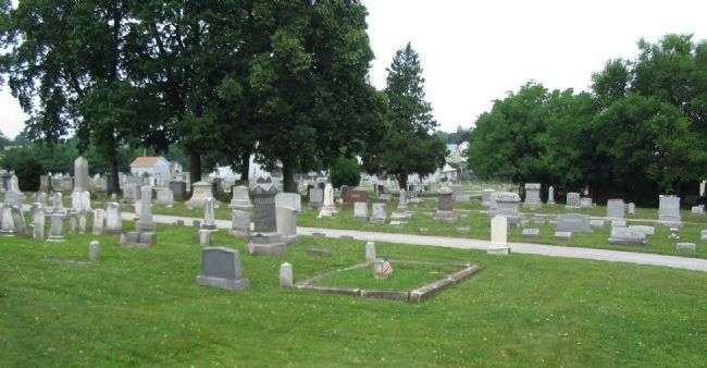 Mt. Olivet Cemetery image. Click for full size.