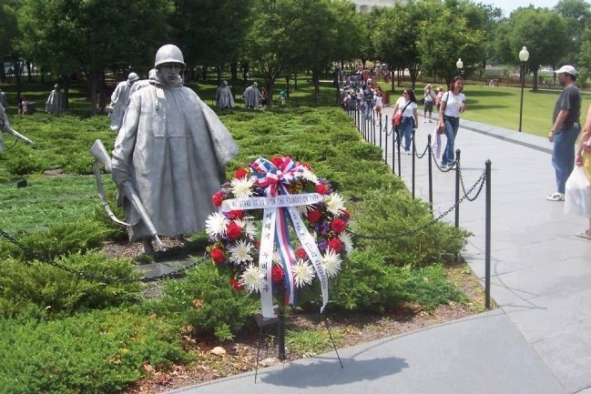 Korean War Veterans Memorial Photo, Click for full size