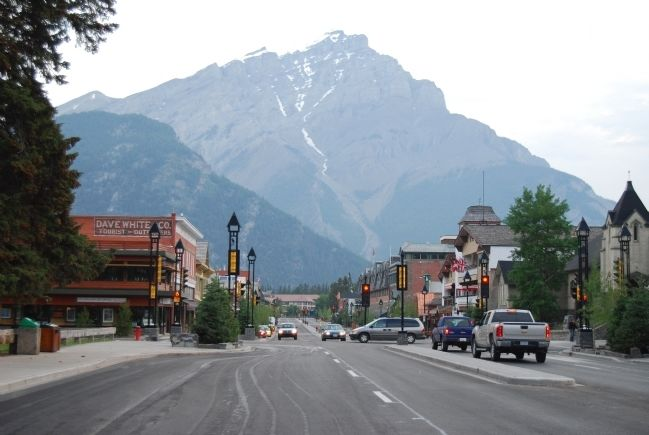 Banff Avenue in 2008 image. Click for full size.