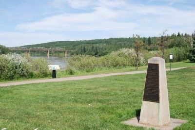Athabasca Landing Marker image, Click for more information